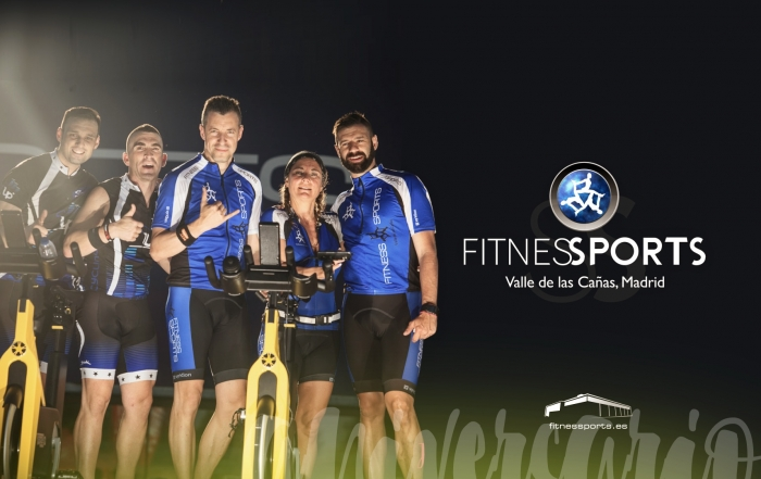 Ciclo Outdoor sexto aniversario Just Six Fitness Sports Valle las Cañas