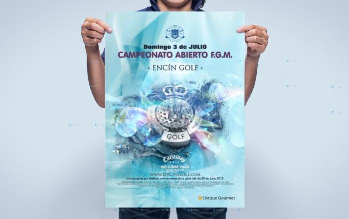Encin Golf Hotel Federacion Golf Madrid Diseño CArtel PerfectPixel Publicidad Agencia de Publicidad en Madrid Cover
