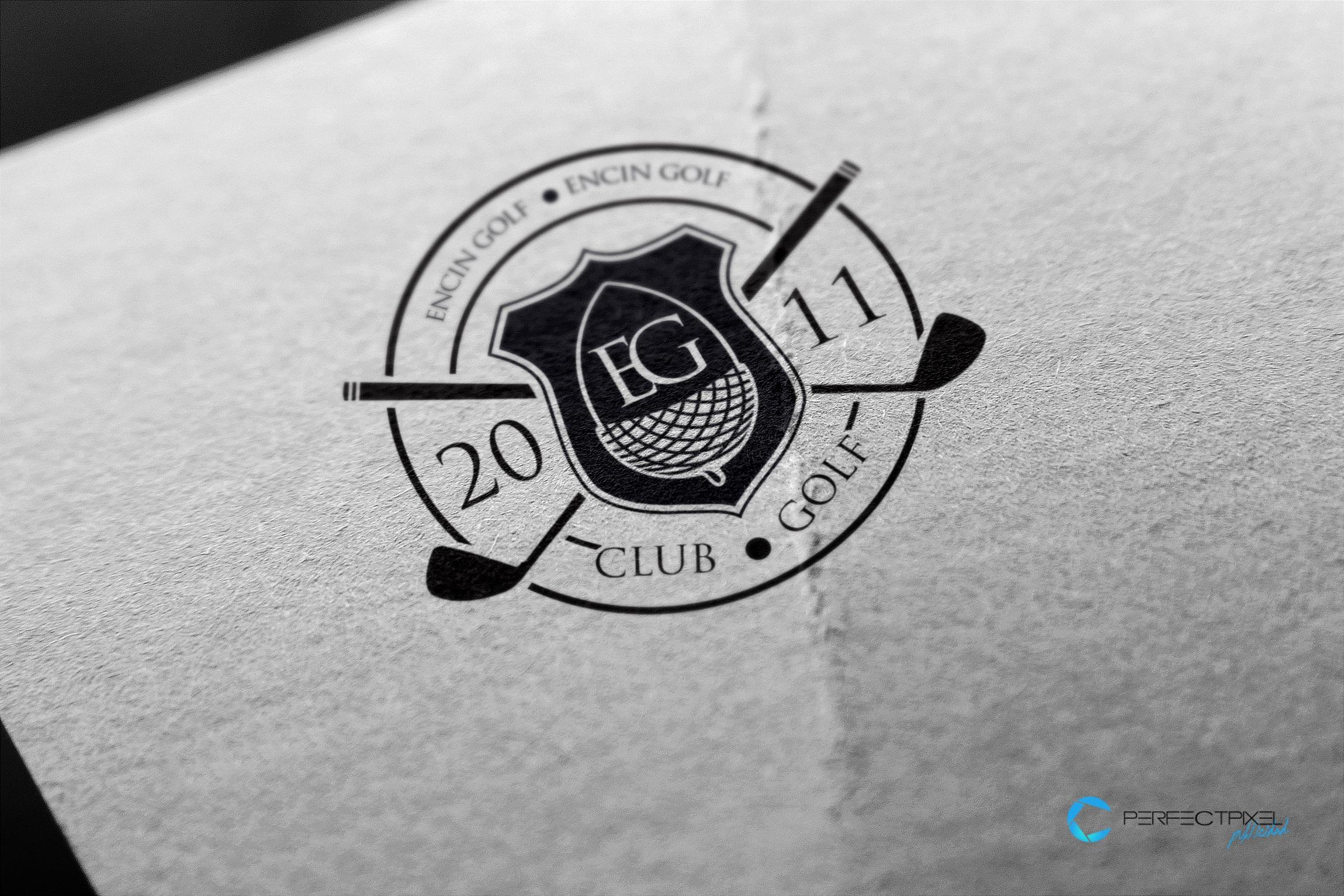 Diseño imagen corporativa club golf - Escuela Encín Golf