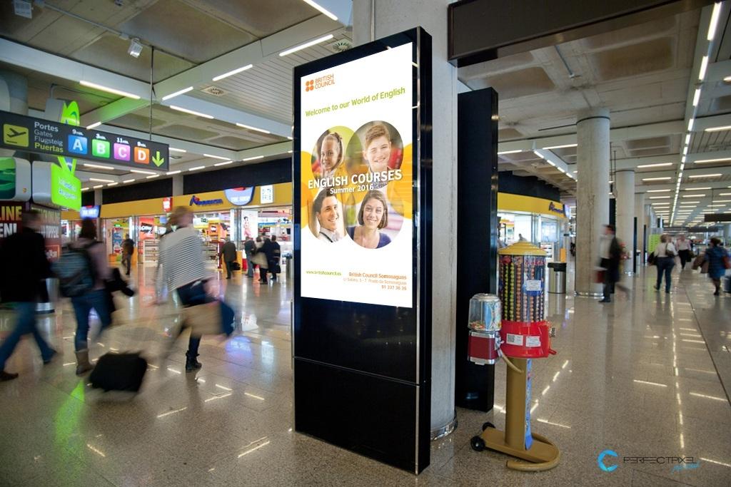 Campaña vertical TV Advertisement EMUPI - British Council