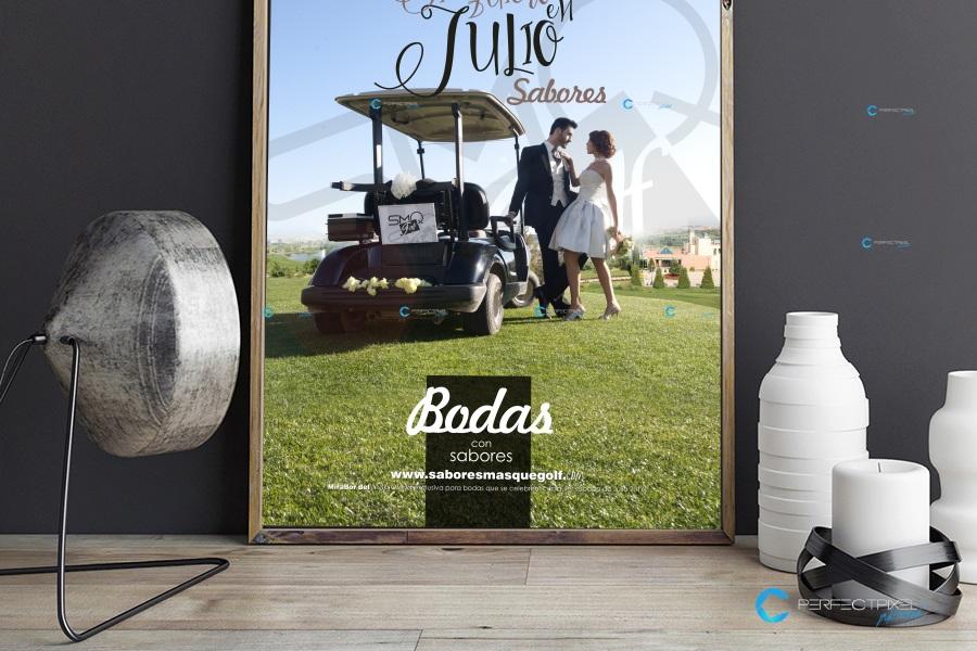 Campaña Bodas - Julio con Sabores más que Golf