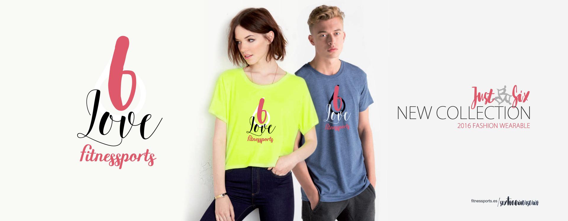 Diseño de camisetas promocionales para evento deportivo - JustSix Fitness Sports Valle las CAñas