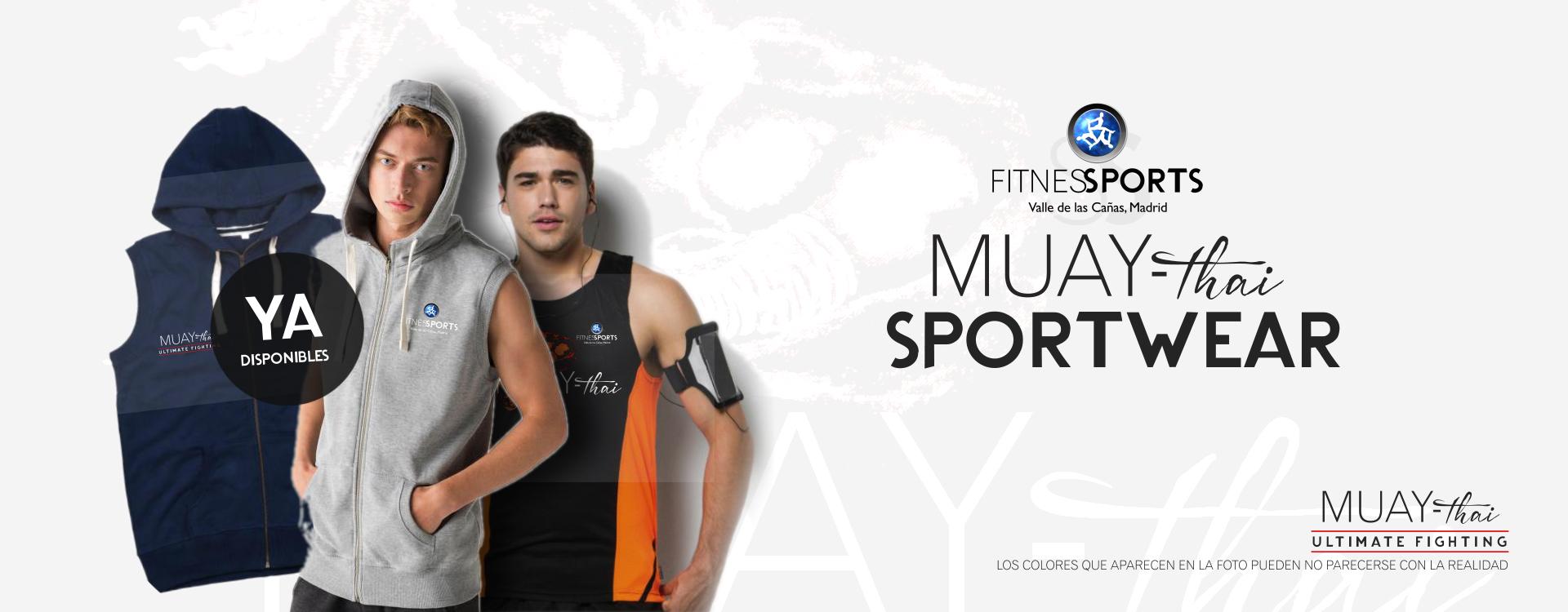 Ropa deportiva para Fitness Sports Valle de las Cañas (Muay Thai) - Ultimate edition