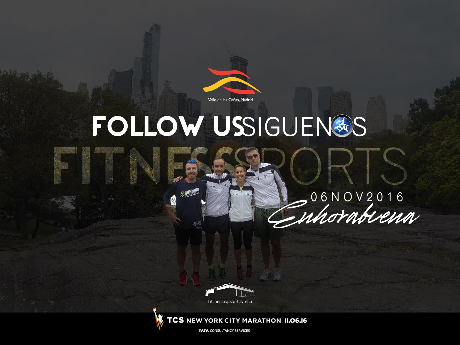 Ropa deportiva para Fitness Sports Valle de las Cañas (TCS Marathon New York)