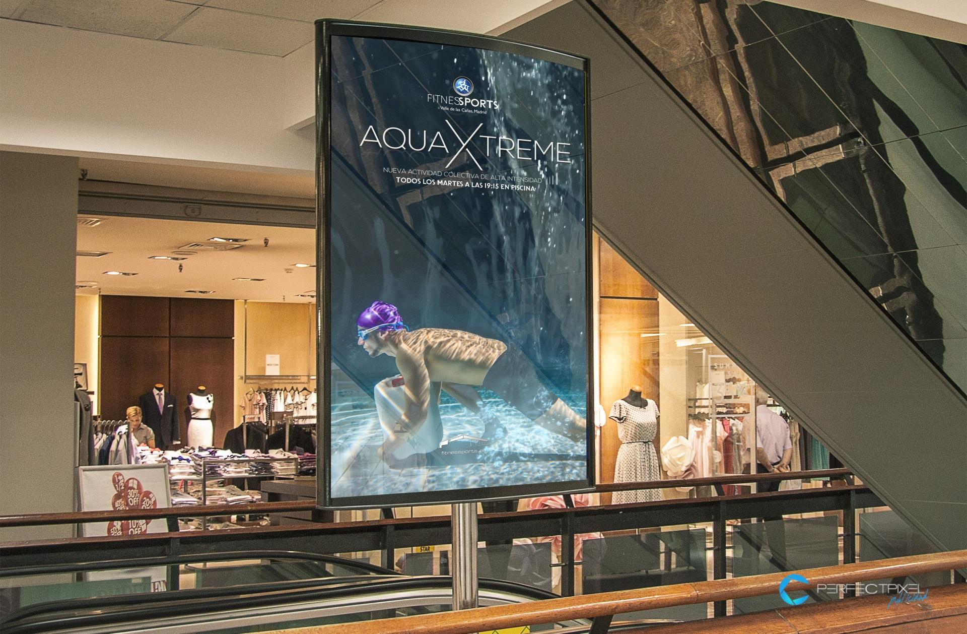 Campaña vertical TV Advertisement EMUPI - AquaXtreme (Fitness Sports Valle de las Cañas)