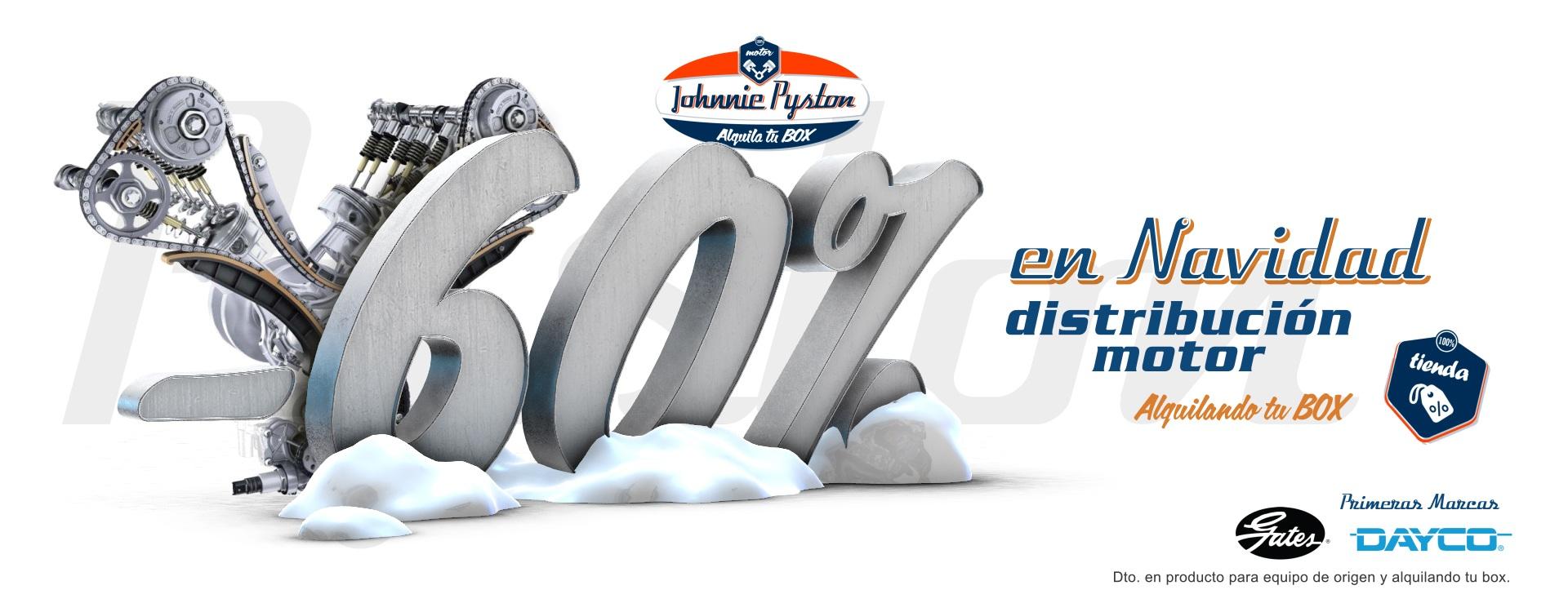 Johnnie Pyston Campaña de Navidad al 60% en Madrid by PerfectPixel Publicidad