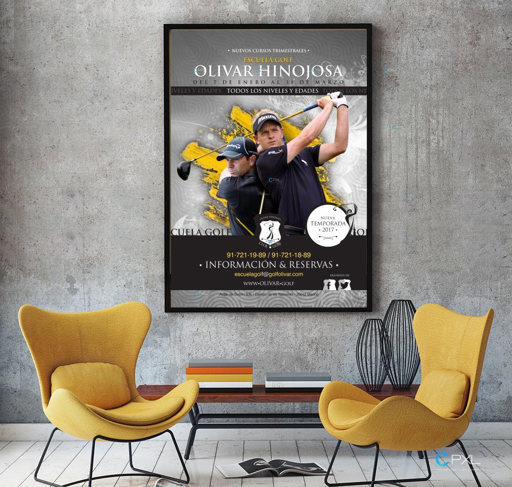 Campaña cursos trimestrales para escuela de golf (Olivar de la Hinojosa)