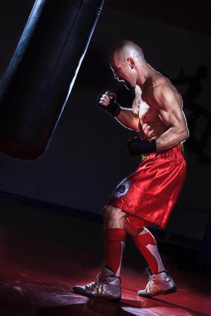 Cómo se hizo esta foto de boxeo