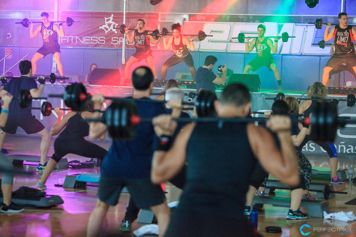 Equipación deportiva conmemorativa Body Pump 100 - Fitness Sports Valle de las Cañas