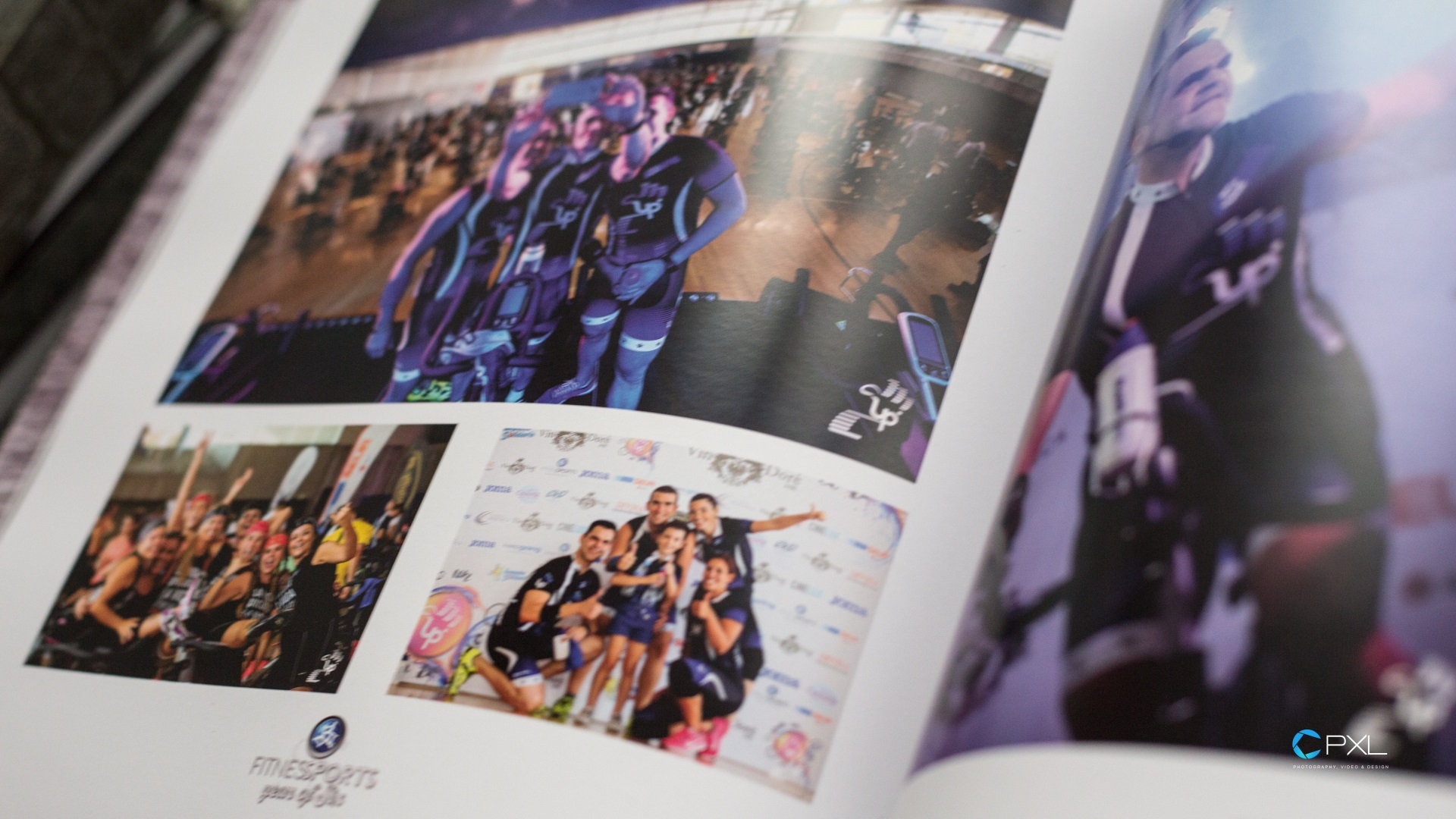Year of Six (THE BOOK) - Fitness Sports Valle de las Cañas anual book design 2016