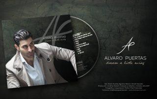 Crooner, Cantante, Álvaro Puertas, Portada CD,