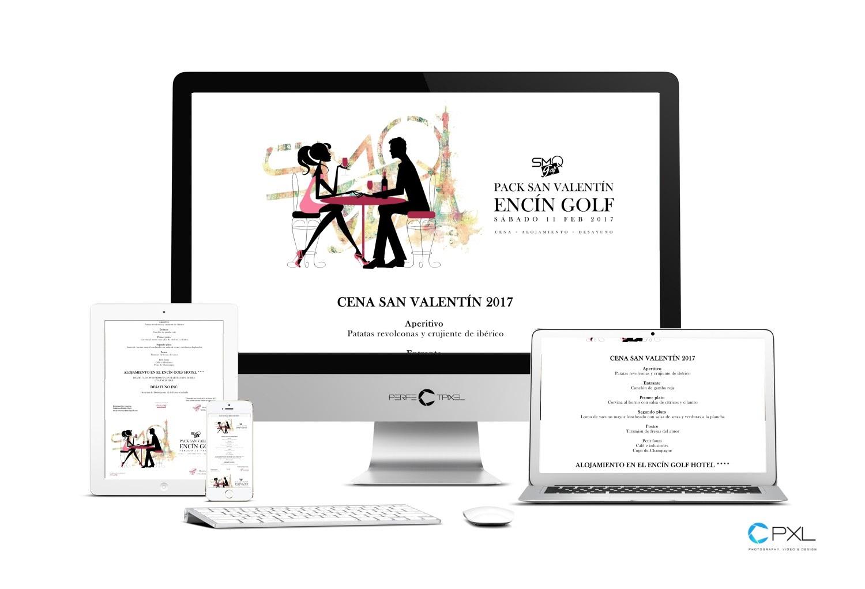 Campaña San Valentín - Encín Golf Hotel y Sabores Mas que Golf