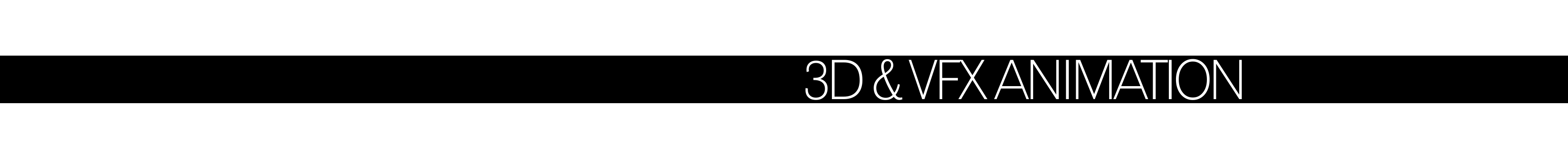 Animación 3D & Visual effects