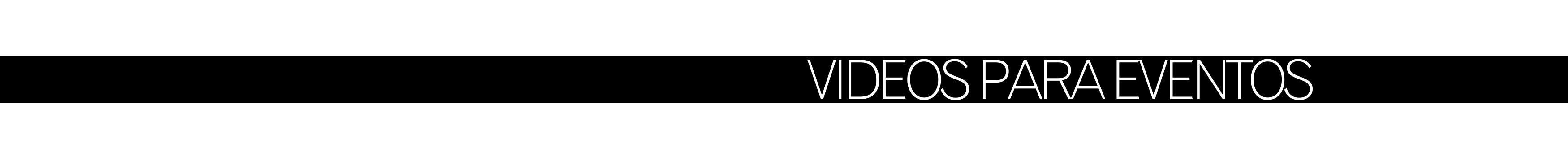 Videos para eventos de empresa y convenciones