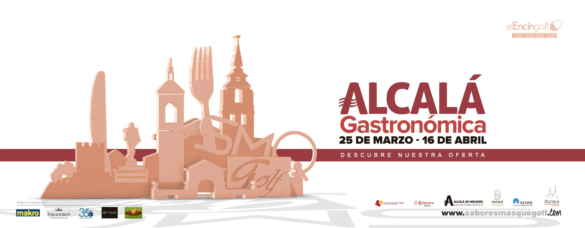 4º certamen Alcalá Gastronómica- vídeo presentación de producto para Encín Golf restaurante