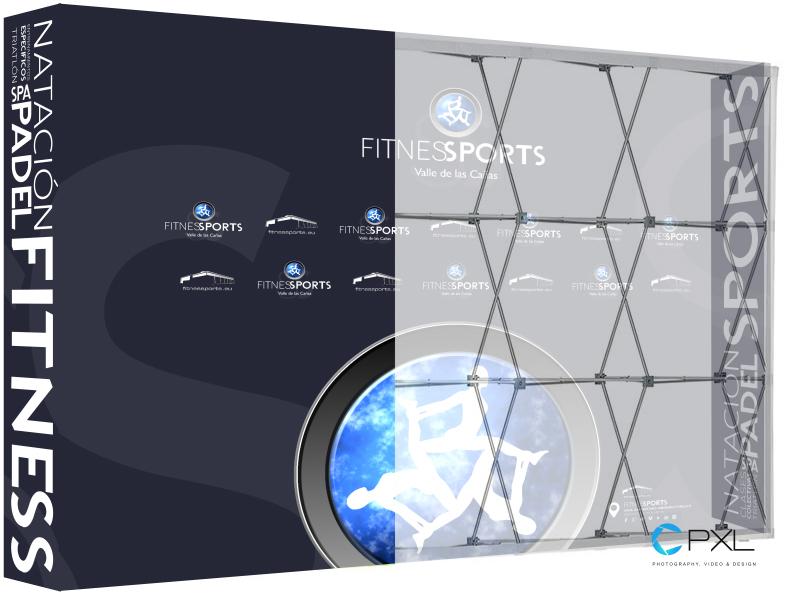 XXL Photocall - Communication Corporate Items Fitness Sports Valle de las Cañas