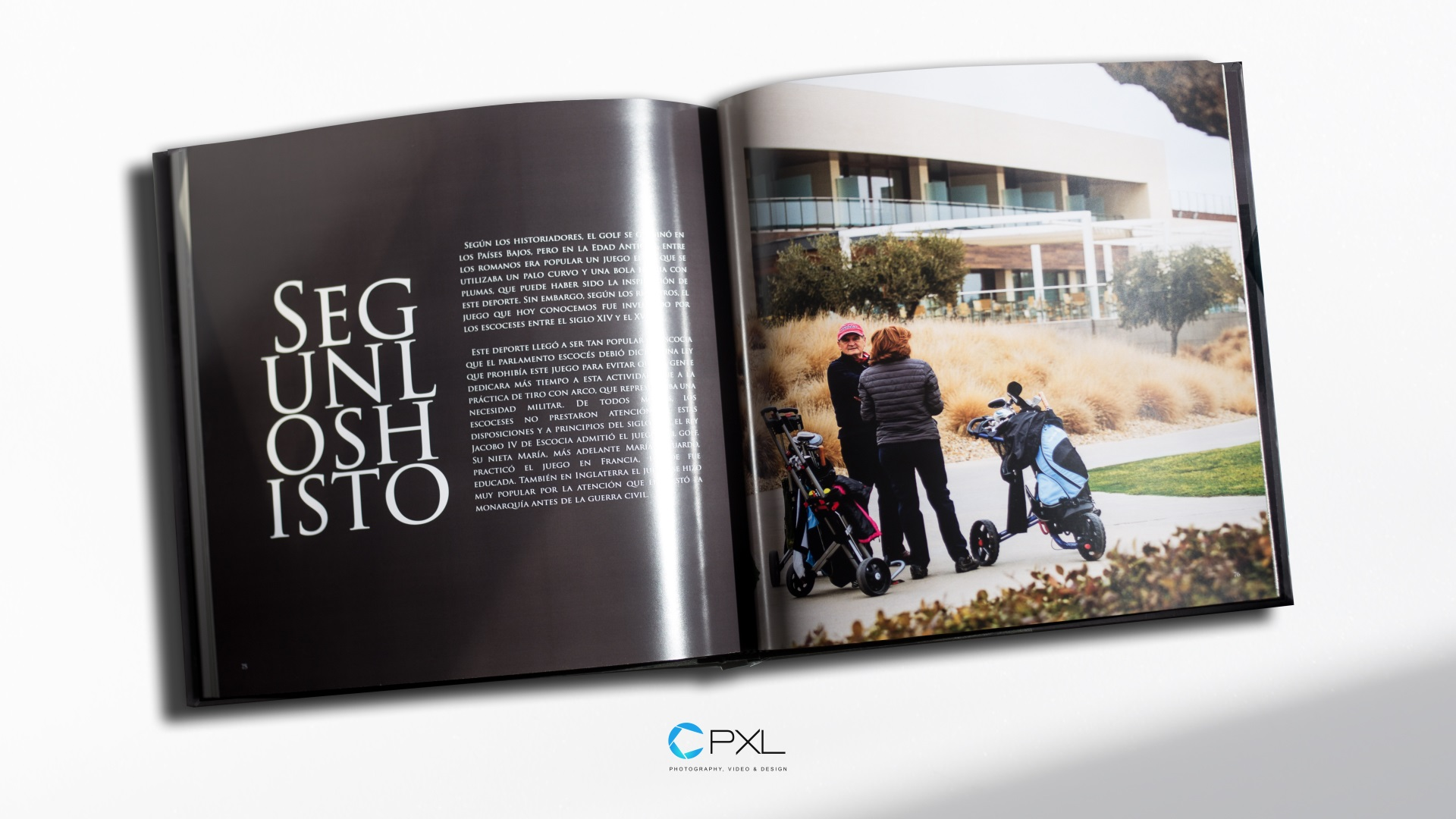 A year of golf (THE BOOK) - Encín Golf Hotel & Olivar de la Hinojosa annual book design 2016