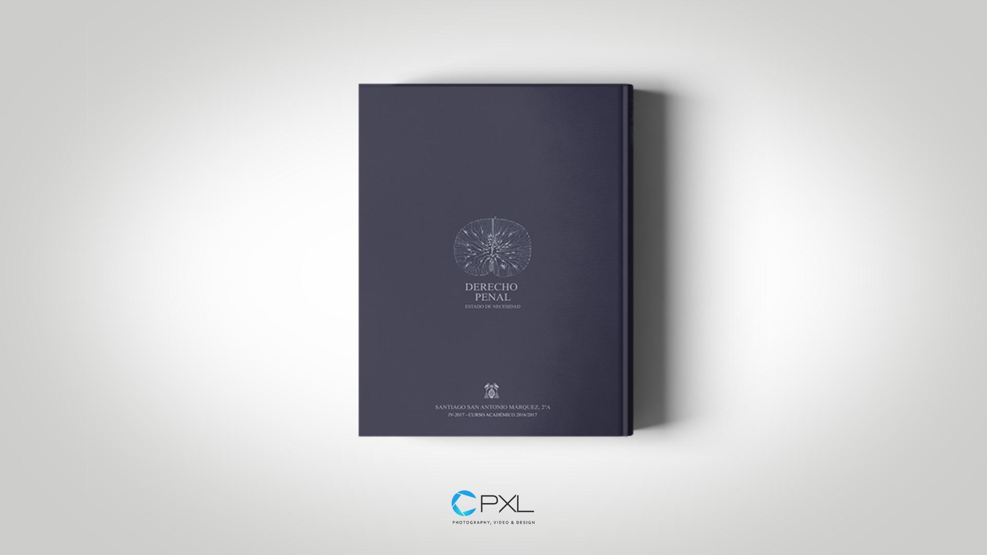 Diseño portada libro - Derecho penal: parte general (Universidad de Alcalá)