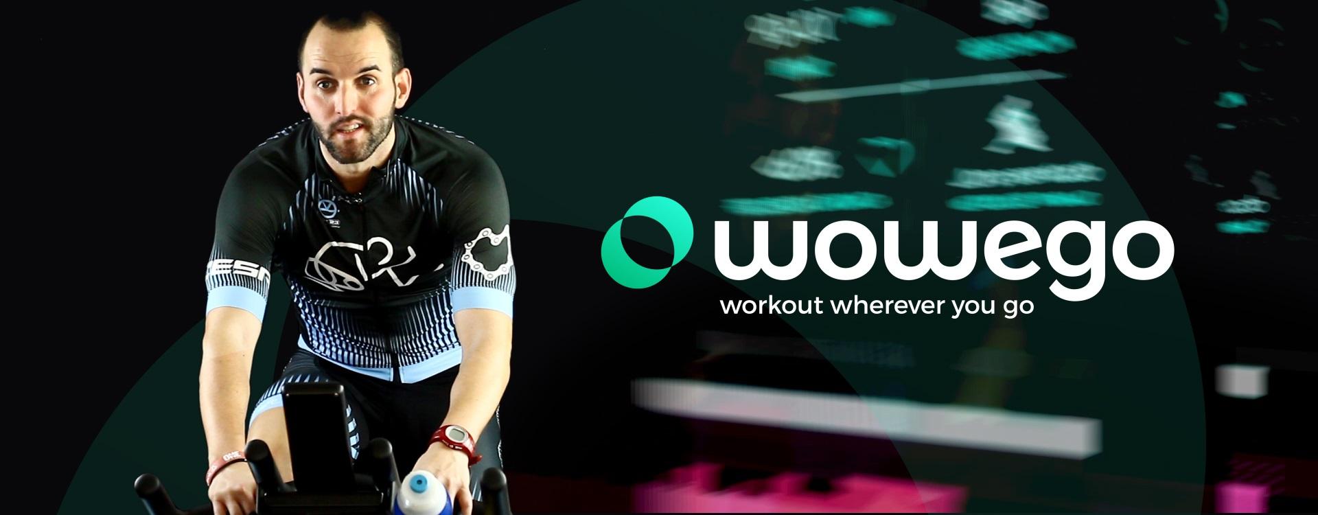 Video promo para clases virtuales de ciclo Wowego (workout wherever you go) - Fitness app