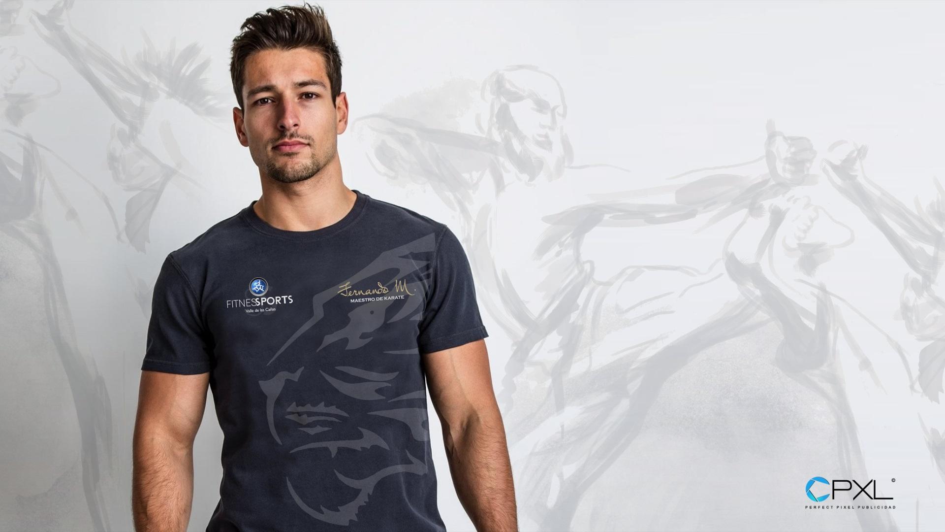 Diseño de camisetas escuela de Karate Fitness Sports (Fernando Martín)