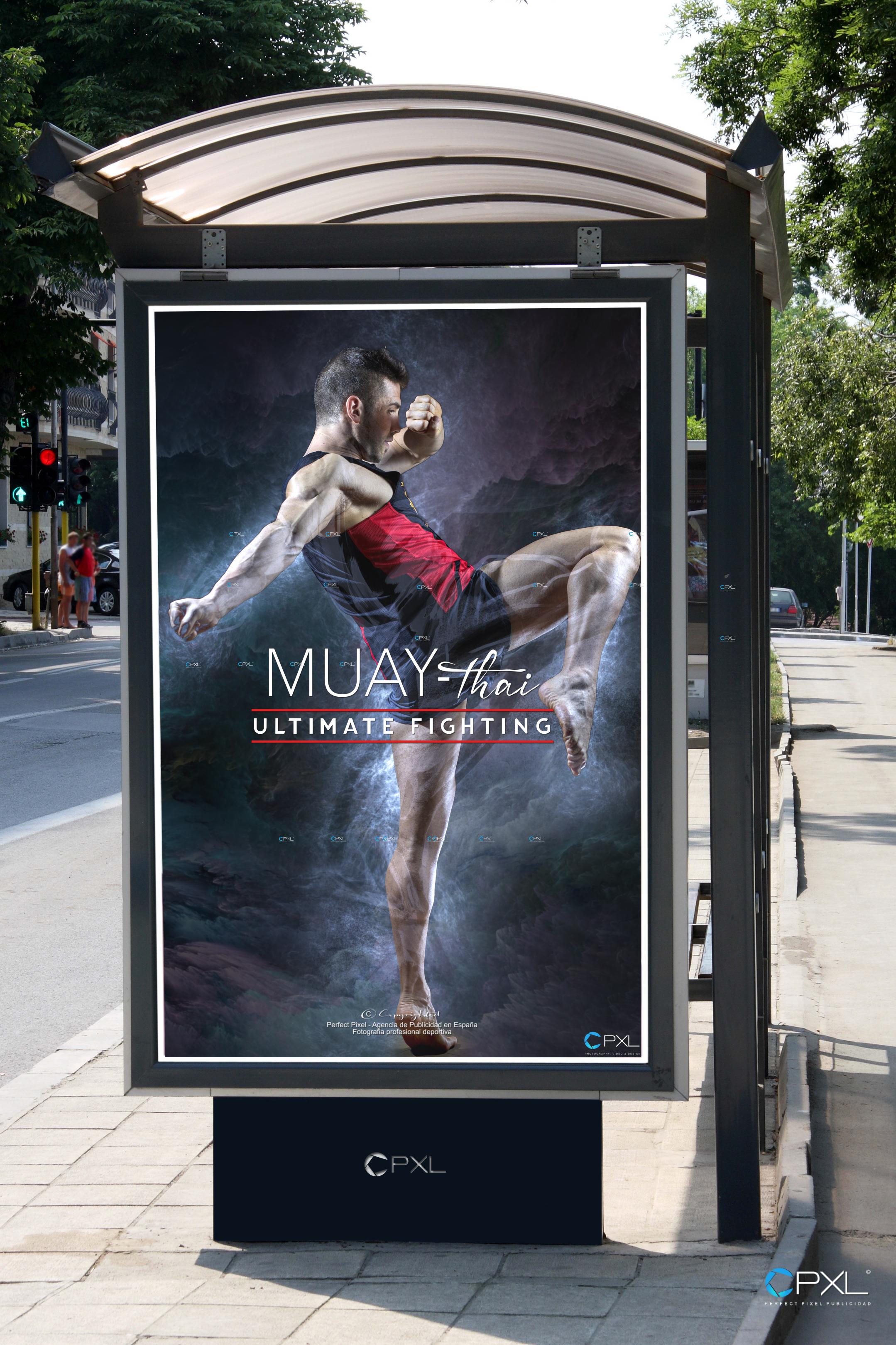 Sesión de fotografía para Muay Thai (The Ultimate Fighting) by Perfect Pixel