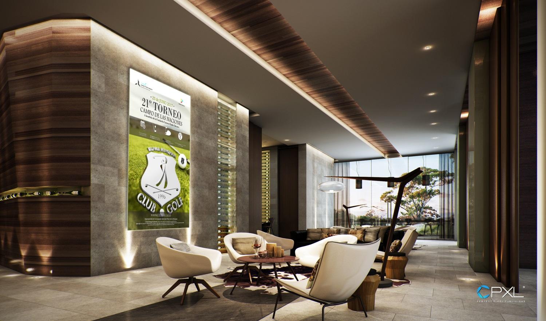 Diseño cartelería para 21º torneo de golf Madrid Destino - Campo de las Naciones