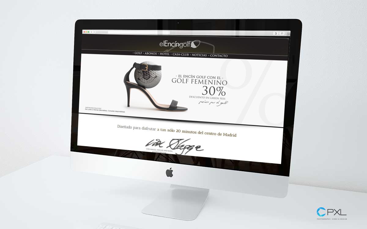 Diseño de oferta para golf femenino (Encín Golf & Golf Olivar de la Hinojosa)
