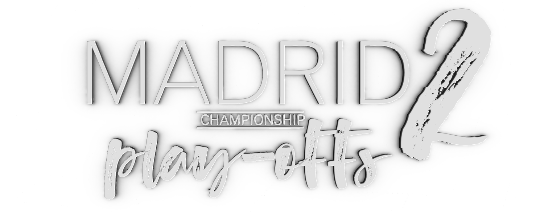 Cartel publicitario para torneo de golf en Madrid (Madrid Play-Offs 2)