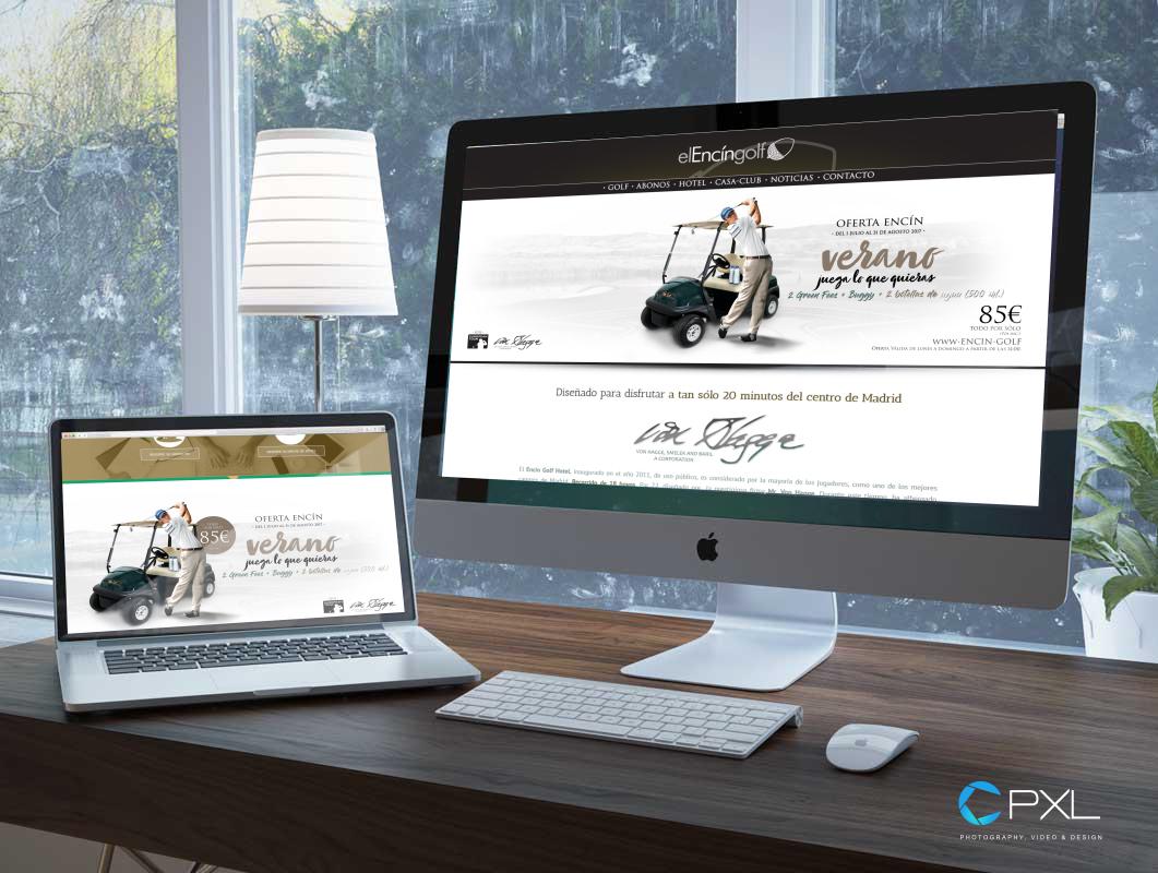 Diseño oferta verano en campo de golf Encín Golf Hotel