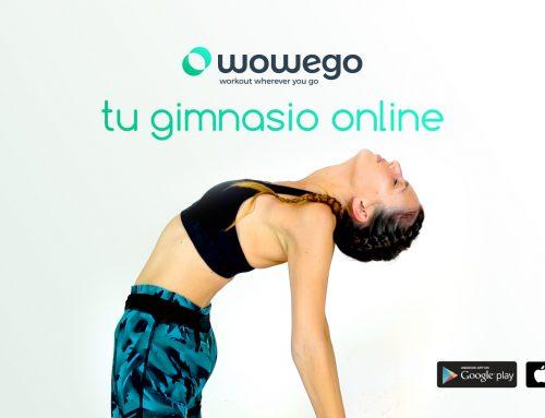 Video promocional para fitness app WOWEGO