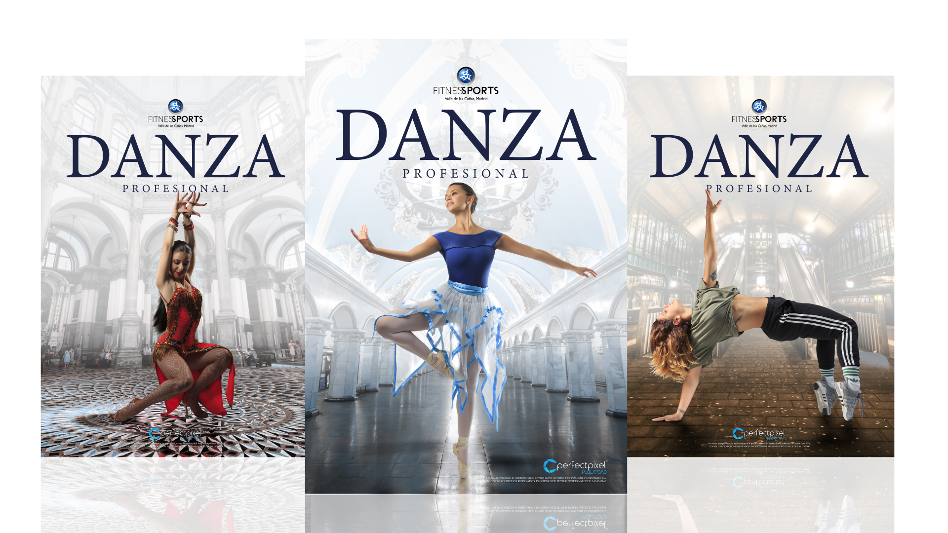 Carteleria Profesional Para Festival De Danza En Madrid