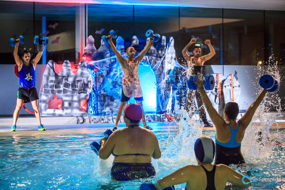 Halloween, Fotografía de eventos, Gimnasio, Fitness, AquaFit