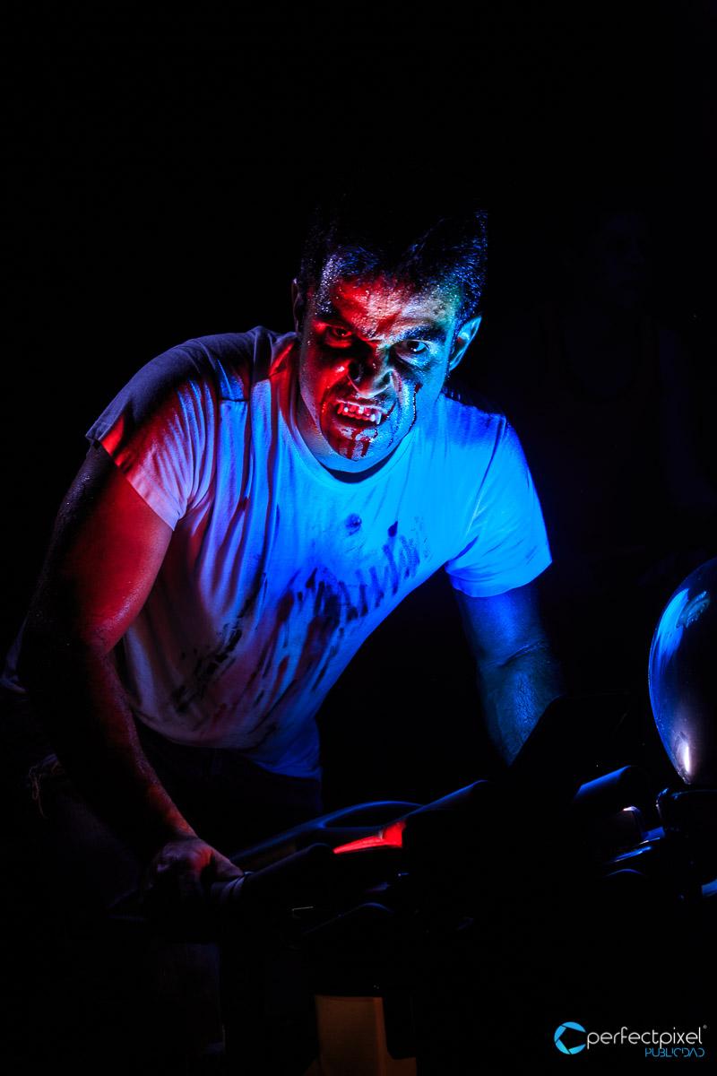 Halloween, Fotografía de eventos, Gimnasio, Fitness, Spinning, Ciclo Indoor