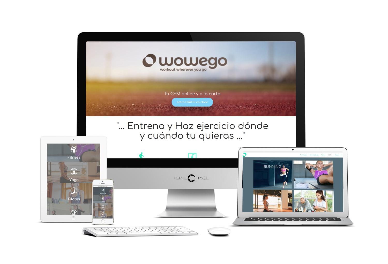 Promo Crowdfunding Wowego Fitness app - Crowdcube