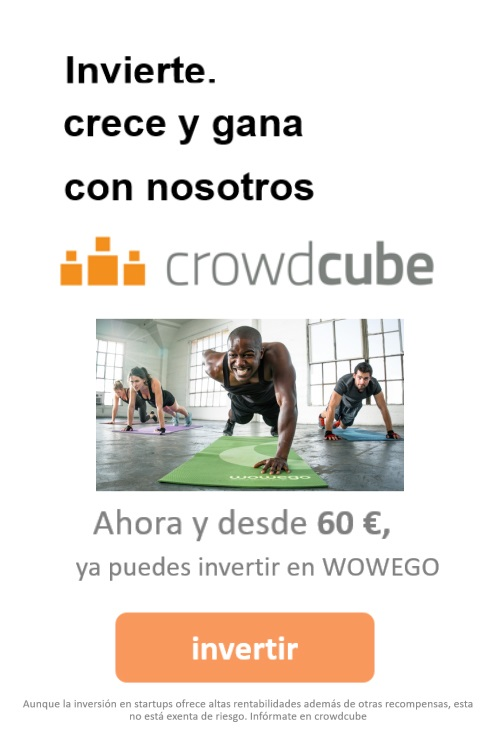 Invertir CrowdCube Wowego fitness app