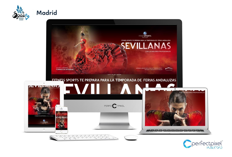 Cartelería profesional para sevillanas en Madrid