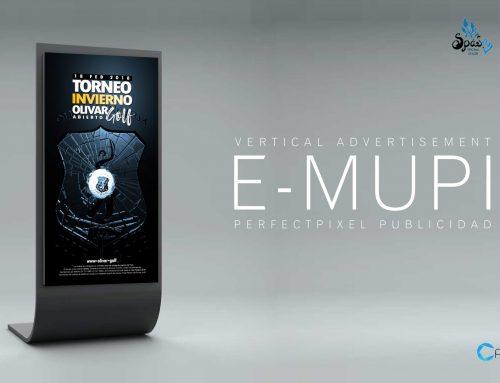 Video 3D (E-MUPI Digital Signage) – Torneo de golf en Madrid