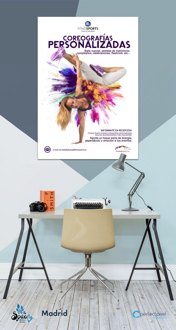 Fama a Bailar Cartelería profesional para escuela de baile en Madrid Perfect Pixel Publicidad