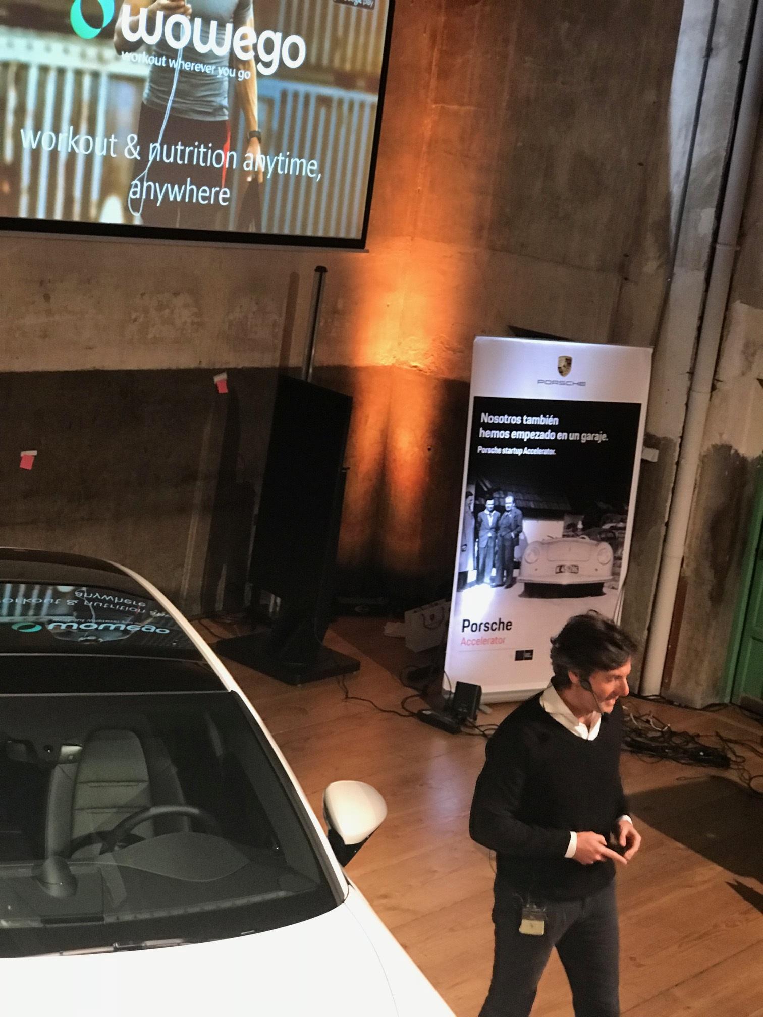 Porsche Accelerator acelerará Wowego (fitness app)