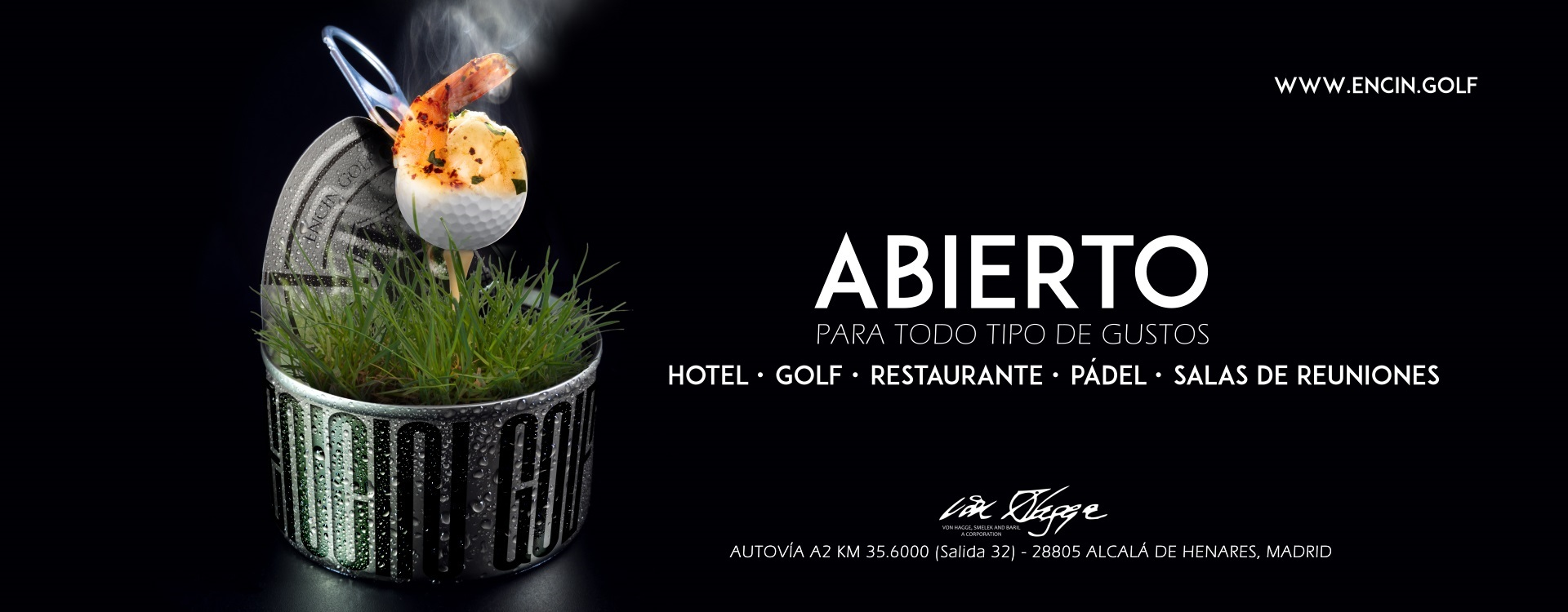 Anuncio para revista (Encín Golf Hotel)