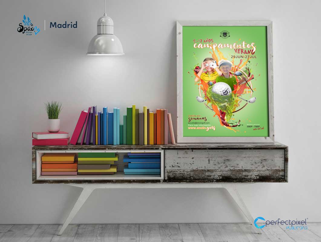 Campaña para campamentos de verano 2018 en Madrid (Encín Golf Hotel)