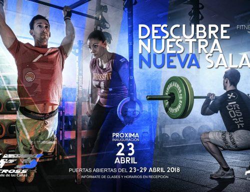 Cartelería profesional y fotografía deportiva para nuevo Box CrossFit