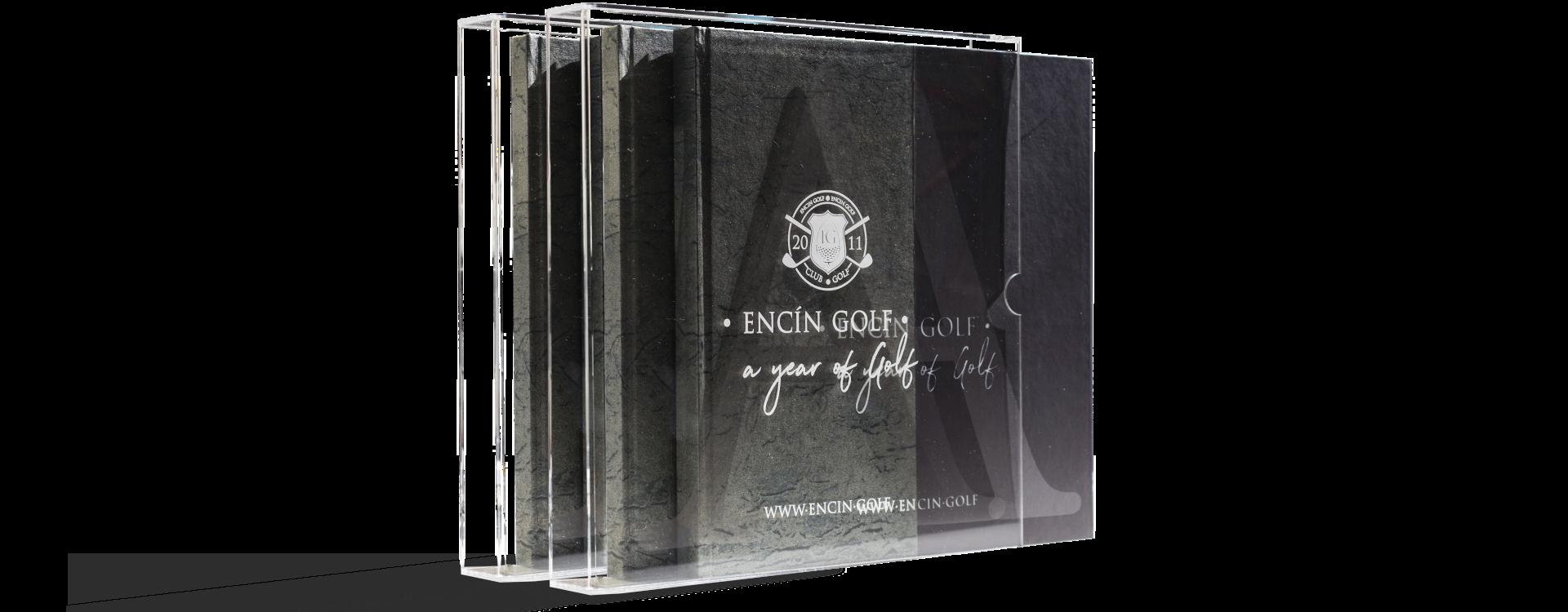A year of golf Encin Golf Book design Perfect Pixel Publicidad