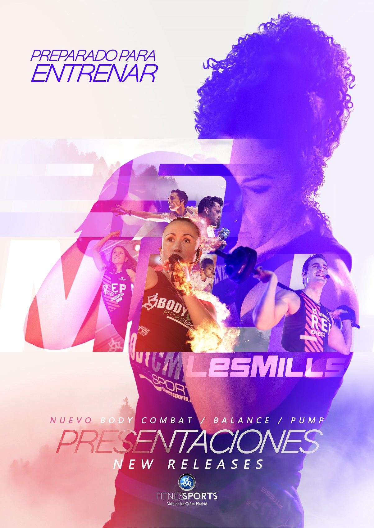 Les Mills Poster Design Fitness Sports Perfect Pixel Publicidad Agencia Madrid