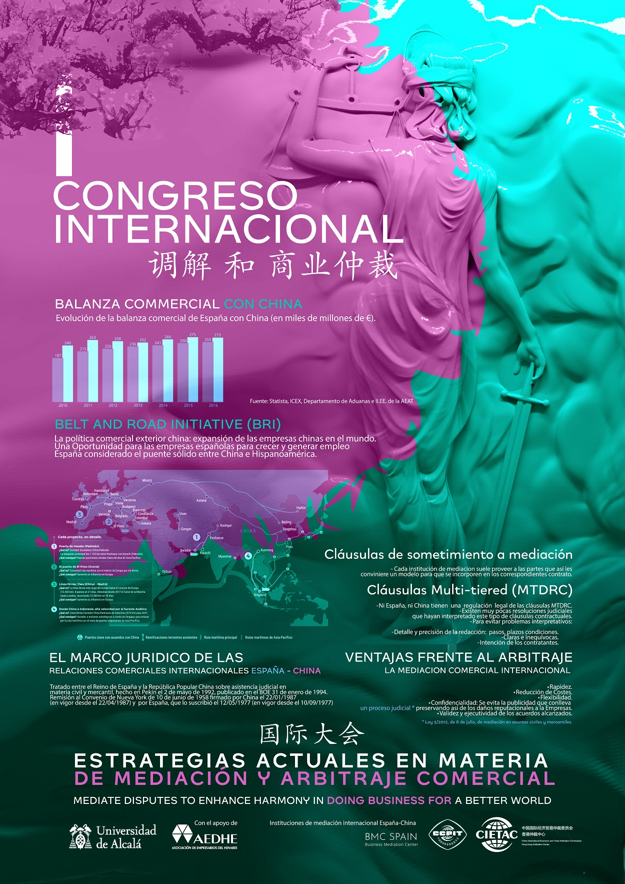 International conference Comercial Arbitration CIETAC Perfect Pixel Agency